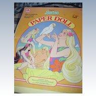 1986 Tropical Barbie Paper Dolls *UNCUT!