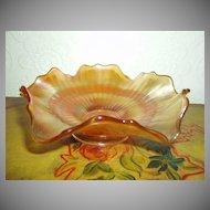 Carnival Orange  Candy Dish
