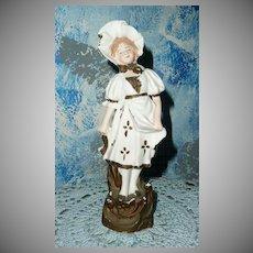 German Bisque Victorian Girl