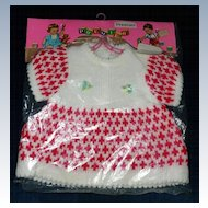 "1960 Premier Doll Togs Fashion Dress for 20""-21"" Dolls *MINT!"