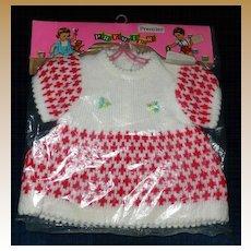 "1960 Premier Doll Togs Fashion Dress for 20""-21"" Dolls *MINT!"