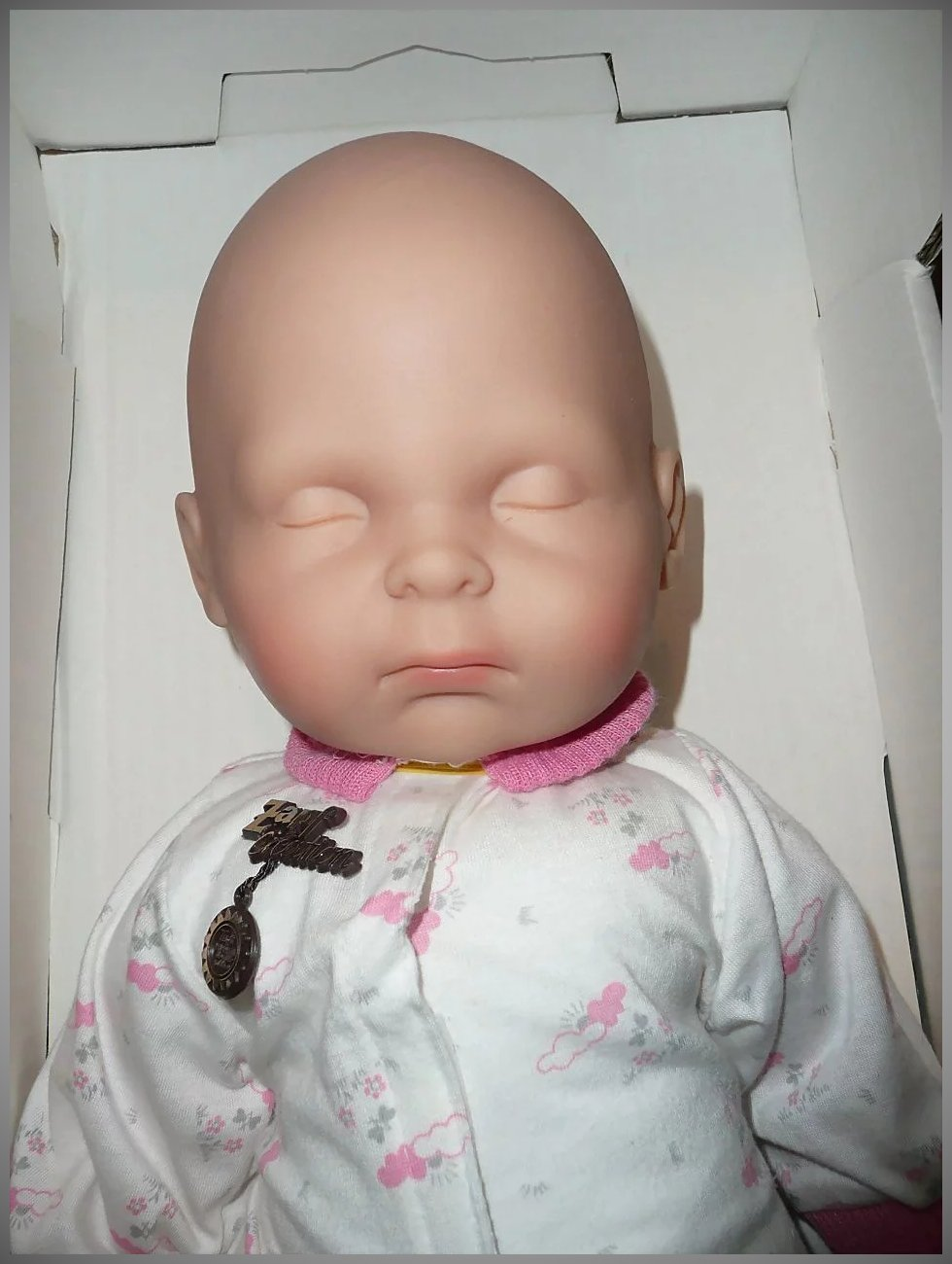 Zapf Creation Just Born Sleepy Baby Doll New In Box