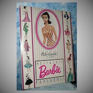 1989  Barbie Nostalgic Paper Doll  MINT!