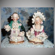 Beautiful Pair of Louis XIV Figurines
