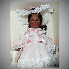 "1975 Effanbee 11"" Grandes Dames Black Doll - Summer - NIB"
