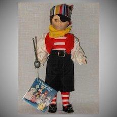 1983 Effanbee Captain Kidd Doll Mint in Box #1184
