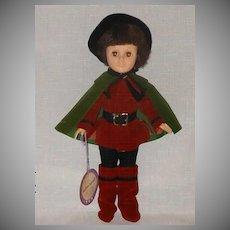 """1976 Effanbee 11"""" Robin Hood Storyland Collection  #1181 - NIB"""