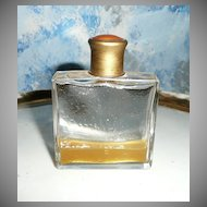 Guilloche Enamel Square Perfume Bottle