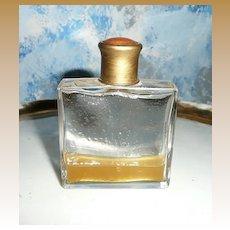 Guilloche Enamel Square Perfume Bottle