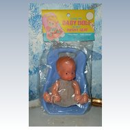 Cutie-Pie Baby  Boy Doll in Her Infant Seat Sold at GRANT *New