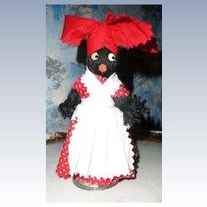 Black Americana  Doll Dinner Bell