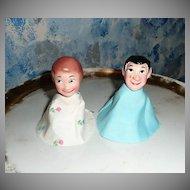 Vintage HIghlights  Timbertoes Children  Finger Puppets