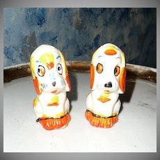 Funny Dogs Salt and Pepper Shakers