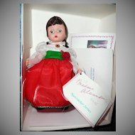 "Madame Alexander  8"" Doll Clara's Party Dress #14570"