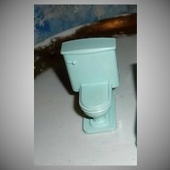 Lot of Two 'Superior' Doll House  Toilet Furniture