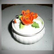 Pretty  Napcoware Poppies Flowers Dish
