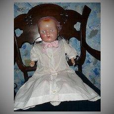 Primitive Huge Composition Baby Girl Doll