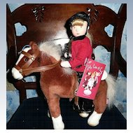 """""""Jelly, Cake & Candy"""" Horse - Plush  *Retired"""