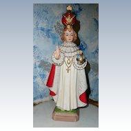Tall  Vintage Infant  Jesus of Prague