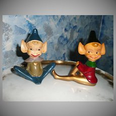 Vintage LEGO Pair of  Tall Pair of Pixie Elf