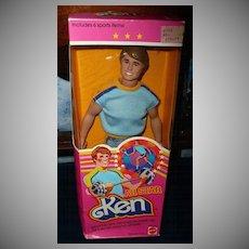 1981 Mattel # 3553  All Star KEN Doll  *NIB