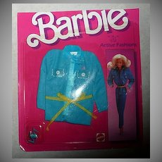 1984 Barbie Active Fashion #7910  *NIB