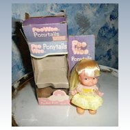 'Pee Wee Ponytails '  Blond Doll By Uneeda
