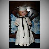 1950's  Hard Plastic Graduate Doll