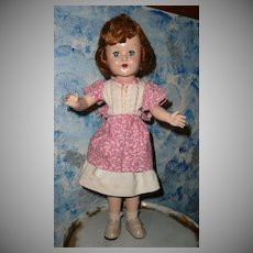 "1950 Horsman 18"" Blond Doll"