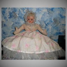 Vintage Hand-Made Cloth/Bed Doll