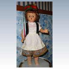 1950's All Original Big Doll