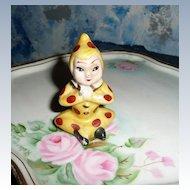 Praying  Yellow/Brown  Polka Dot  Pixie Elf