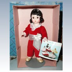 "Madame Alexander  8"" Red Boy Doll  #440 Storyland Collection *NRFB"