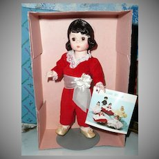 """Madame Alexander  8"""" Red Boy Doll  #440 Storyland Collection *NRFB"""