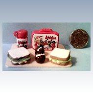Vintage Miniature  Archie & Friends Lunch Box Set *1970's