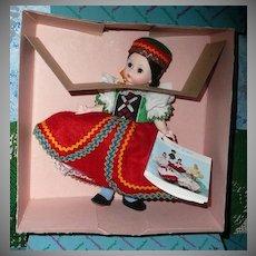 """1984  Madame Alexander 8"""" Doll #564 """"Czechoslovakia"""""""