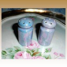 Vintage Blue Luster Color Set of  Shakers