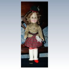 "Ideal Shirley Temple 1982 12"" Wee Willie Winkie"
