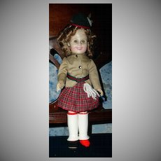 """Ideal Shirley Temple 1982 12"""" Wee Willie Winkie"""