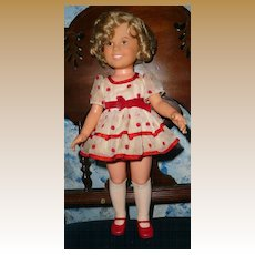 1973  Ideal Shirley Temple Stand Up and Cheer Outfit