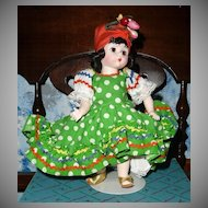 "Madame Alexander  # 573 ""Brazil"" International Dolls"