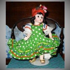 "Madame Alexander  # 573 ""Brazil"" International Dolls"