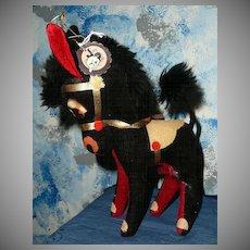 Vintage Jerry  Elsner  New York Black Pony