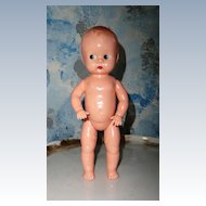 Vintage Ideal Hard Plastic Baby Doll
