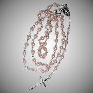 Vintage Roman Catholic Rosary of Our Lady on The Miraculous Medal