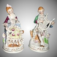 VIntage Louis XV Pair of Young Lovers