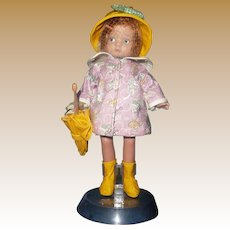 "Very Cute Patysette  Original Effanbee 8"" Doll"