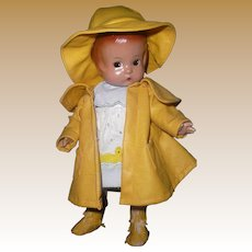 """Effanbee 12"""" Musical Patsy Doll 'Singing in the Rain'"""
