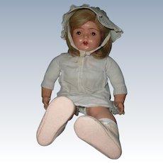 "Gorgeous Madame Hendren 26"" Mama Doll"
