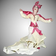 Vintage original 1953  Cuban  Carnival  Rumba Doll